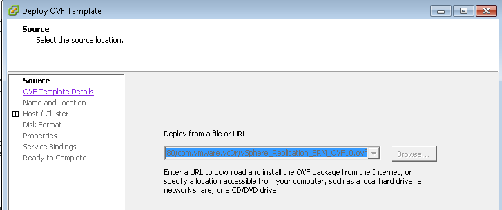 VMware vSphere Replication Install with SRM | Sam Shouse's Blog